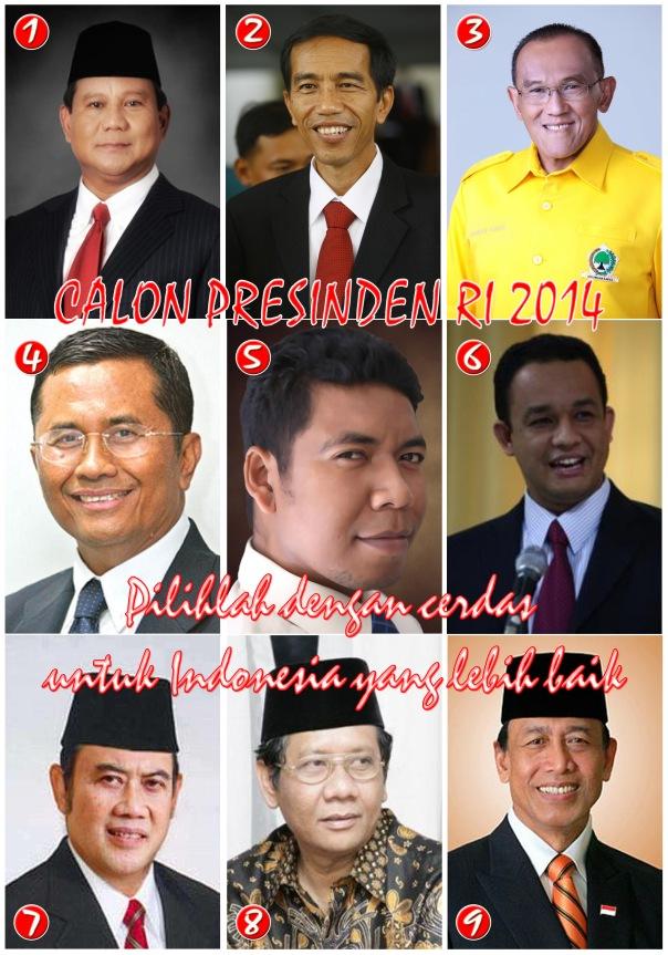 Calon Presiden RI 2014